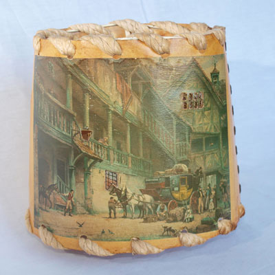 OLD COACHING INN LAMP SHADE