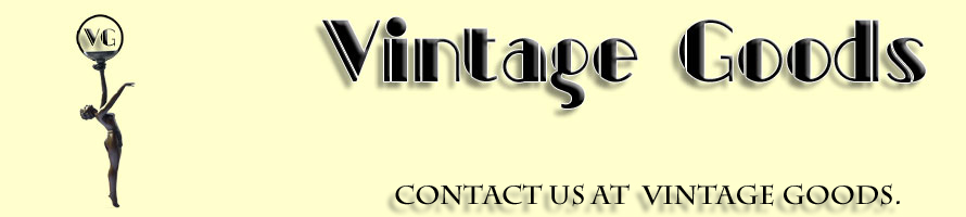 Contact us at Vintage Goods about your Art Deco requirements