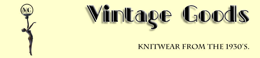Knitwear from 1930 Vintage Goods
